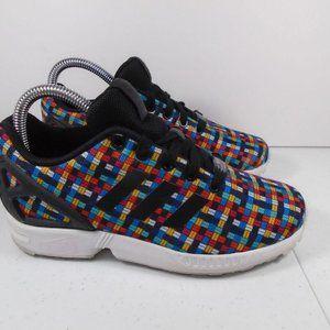 Youth Sz 4 Adidas ZX Flux J Print